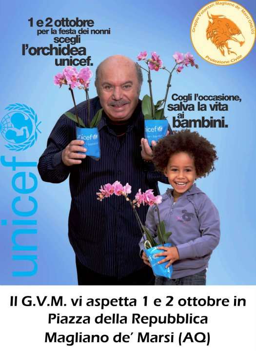Orchidea UNICEF 2011