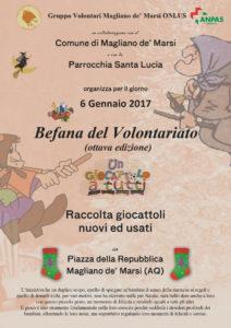 Locandina Befana 2017 (Magliano de' Marsi)